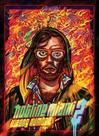 Обложки игры Hotline Miami 2: Wrong Number