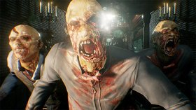 Кадры из игры House of the Dead: Scarlet Dawn