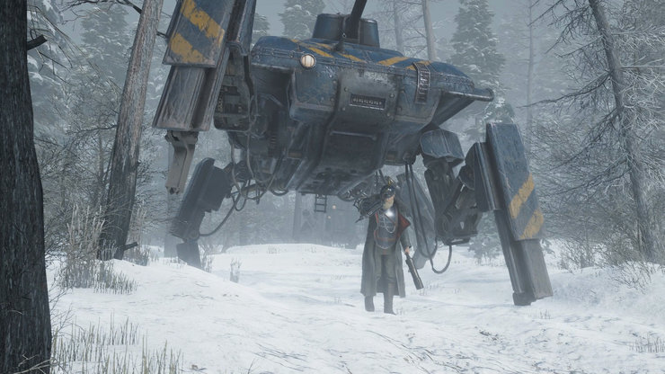 Кадры из игры Iron Harvest