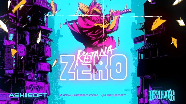 Katana Zero — трейлер эффектного самурайского 2D-экшена с отражением пуль и отмоткой времени