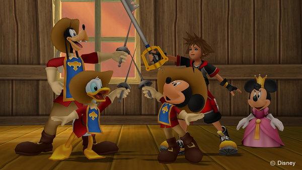 Кадры из игры Kingdom Hearts HD 2.8: Final Chapter Prologue