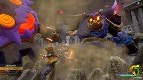Кадры из игры Kingdom Hearts III