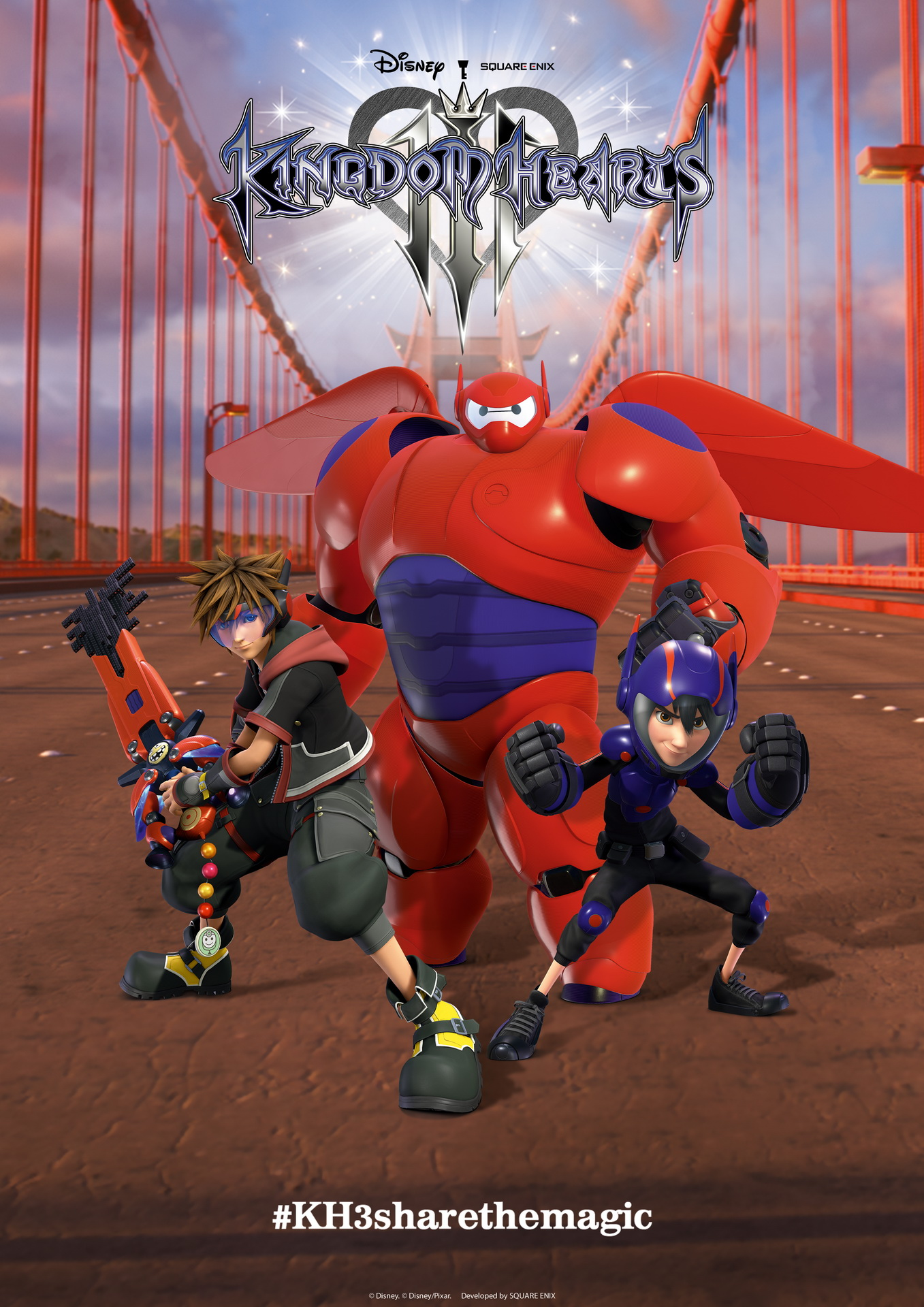 Kingdom Hearts III, постер № 2
