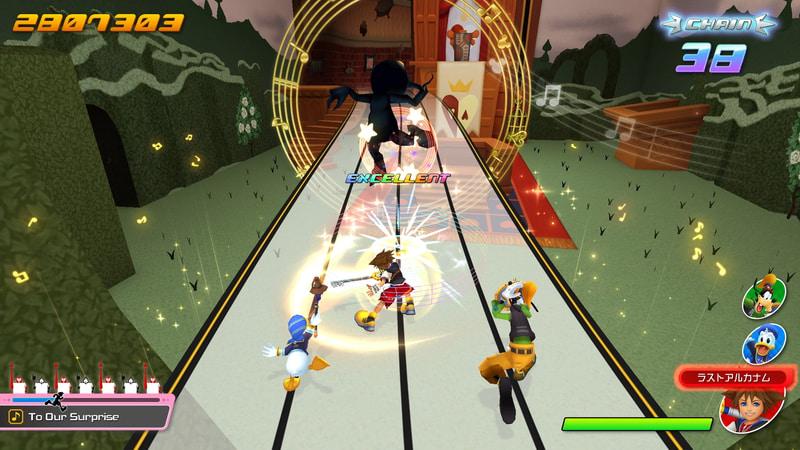 Kingdom Hearts: Melody of Memory, кадр № 11