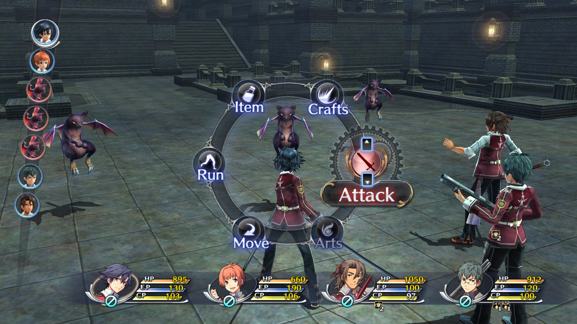 The Legend of Heroes: Trails of Cold Steel, кадр № 8