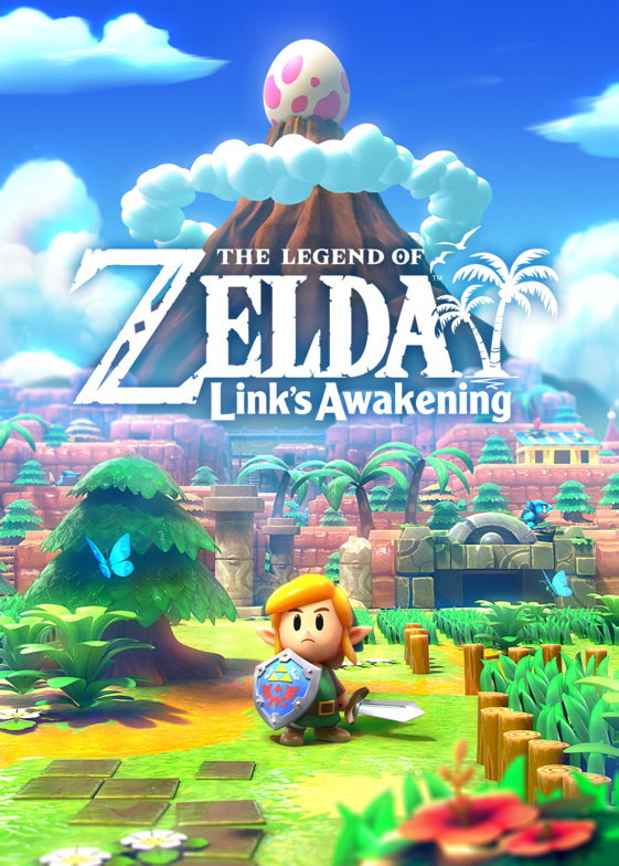 The Legend of Zelda: Link's Awakening, постер № 1