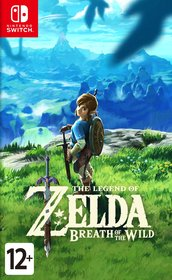 Обложки игры The Legend of Zelda: Breath of the Wild