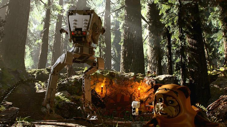 Кадры из игры LEGO Star Wars: The Skywalker Saga