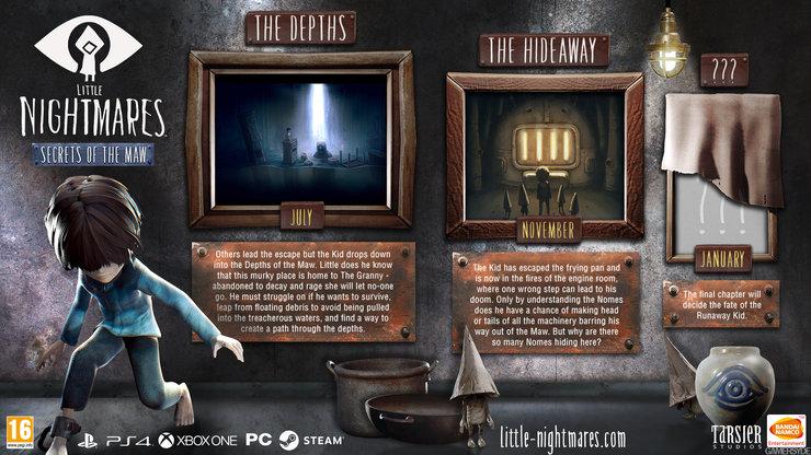 Промо-арт игры Little Nightmares: Secrets of the Maw
