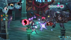 Кадры из игры Little Witch Academia: Chamber of Time