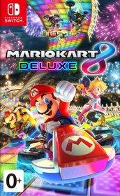 Обложки игры Mario Kart 8 Deluxe