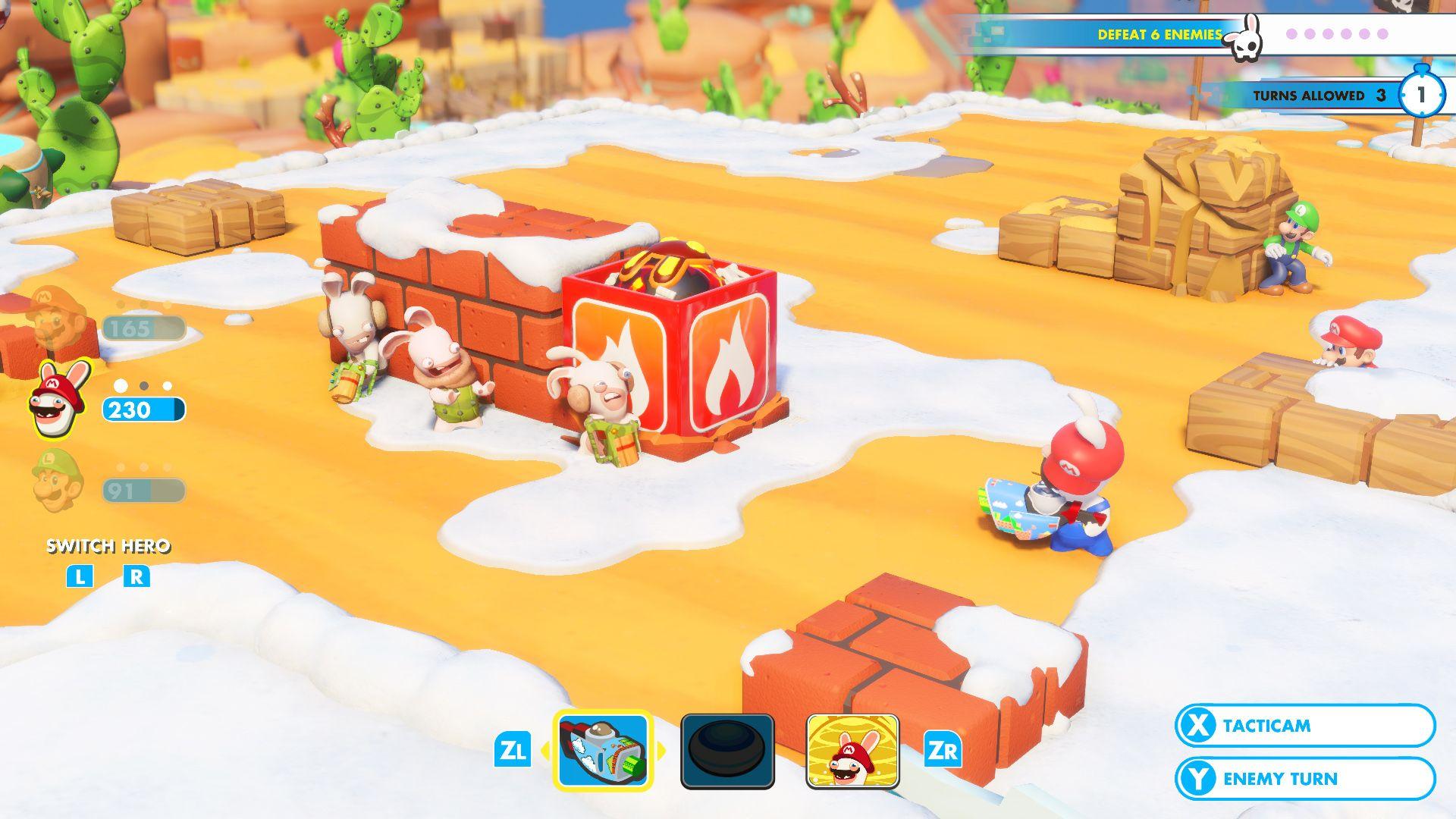 Mario + Rabbids: Битва за Королевство, кадр № 1