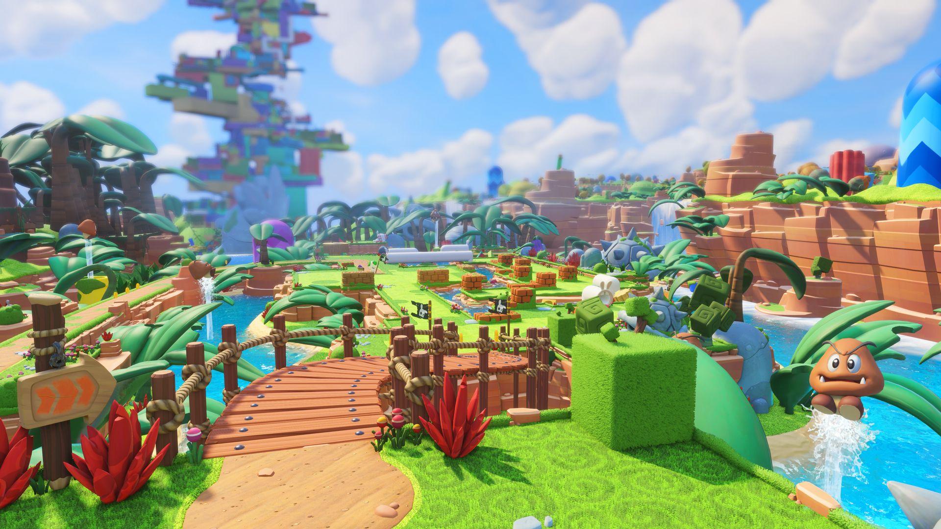 Mario + Rabbids: Битва за Королевство, кадр № 3