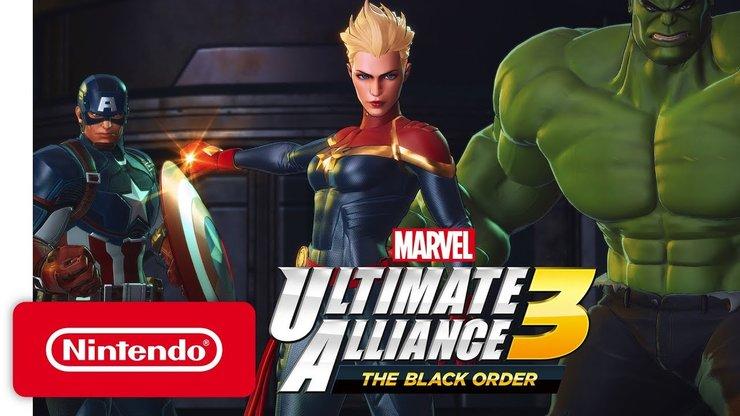 Marvel Ultimate Alliance 3: The Black Order — второй трейлер