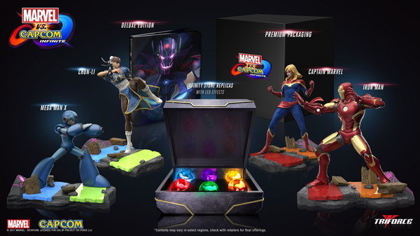 Промо-арт игры Marvel vs. Capcom: Infinite