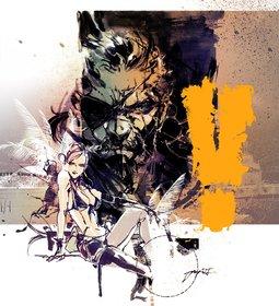 Промо-арт игры Metal Gear Solid V: The Phantom Pain