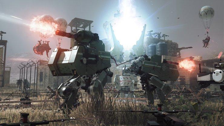 Кадры из игры Metal Gear Survive