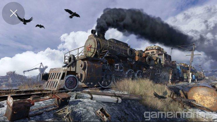 Кадры из игры Metro Exodus