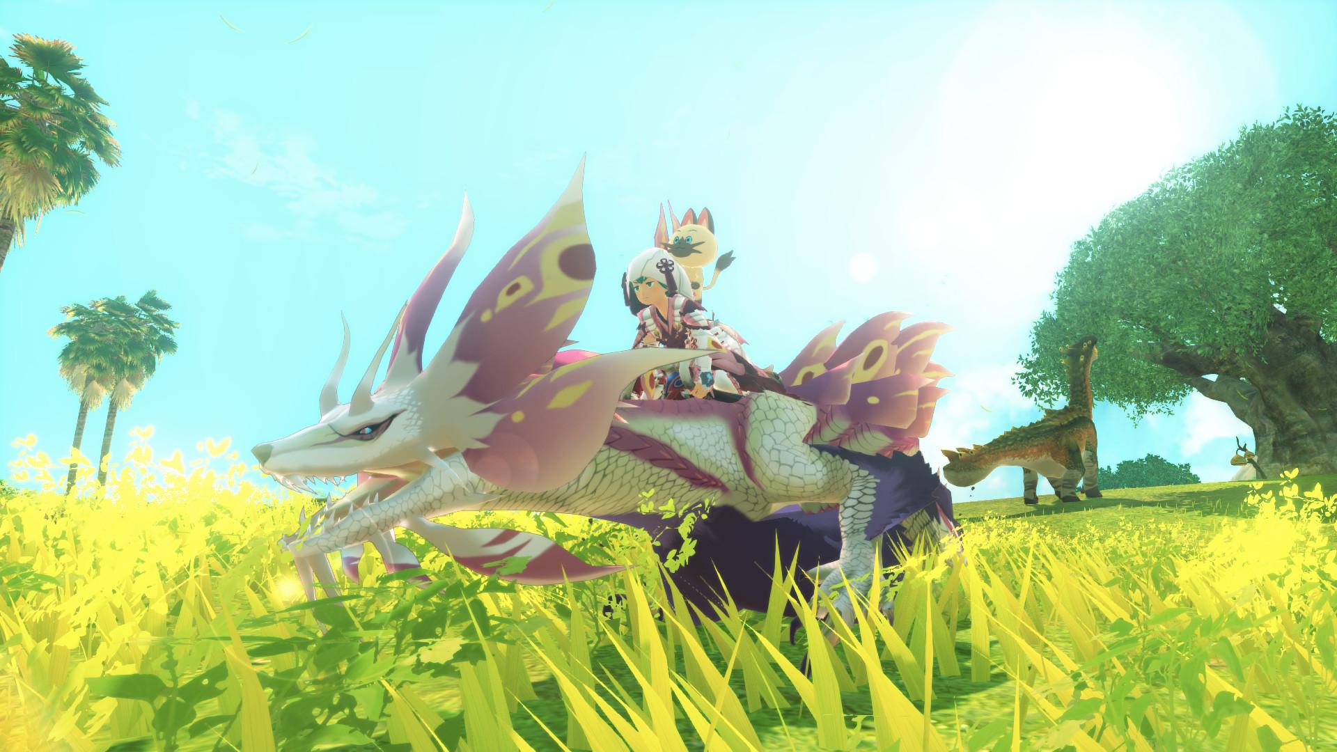 Monster Hunter Stories 2: Wings of Ruin, кадр № 2