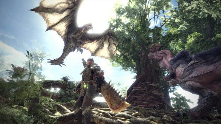 Кадры из игры Monster Hunter: World