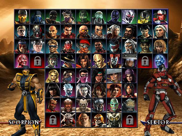 Mortal Kombat                82Mortal Kombat Characters