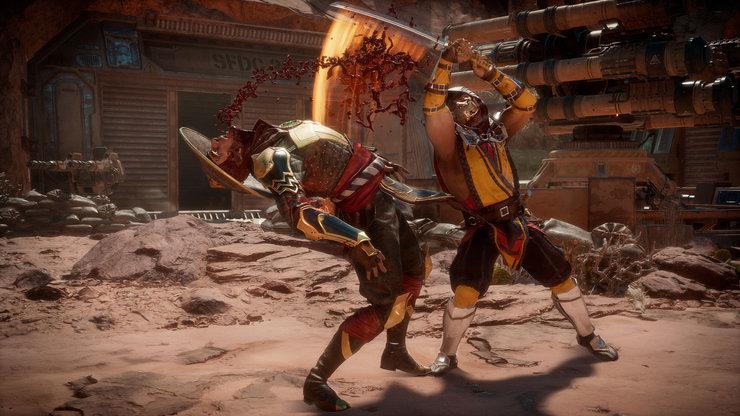 Кадры из игры Mortal Kombat 11