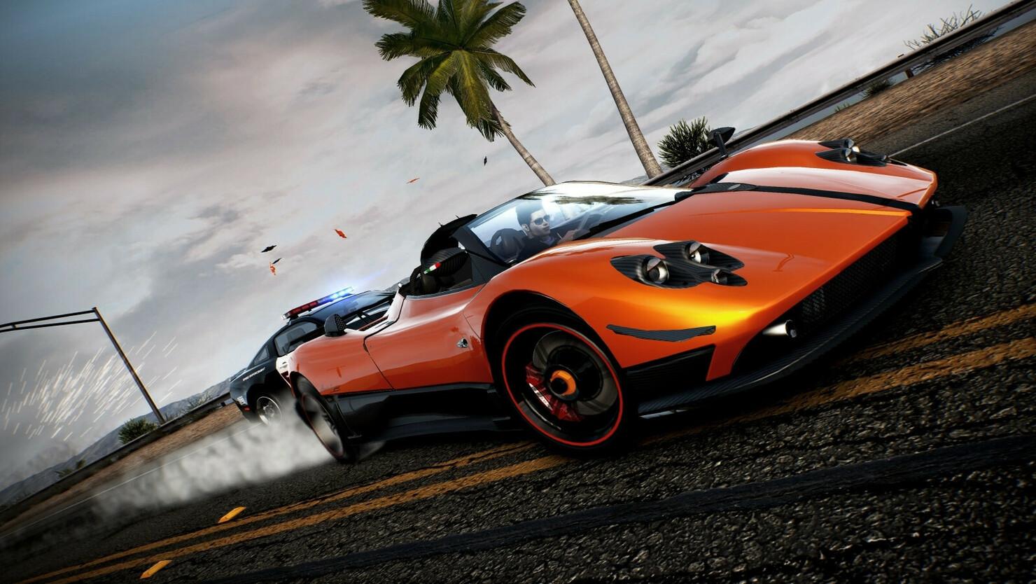 Кадры из игры Need for Speed: Hot Pursuit