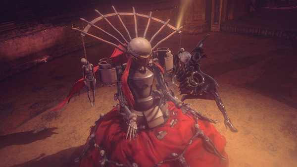 Кадры из игры NieR: Automata