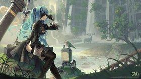 Промо-арт игры NieR: Automata