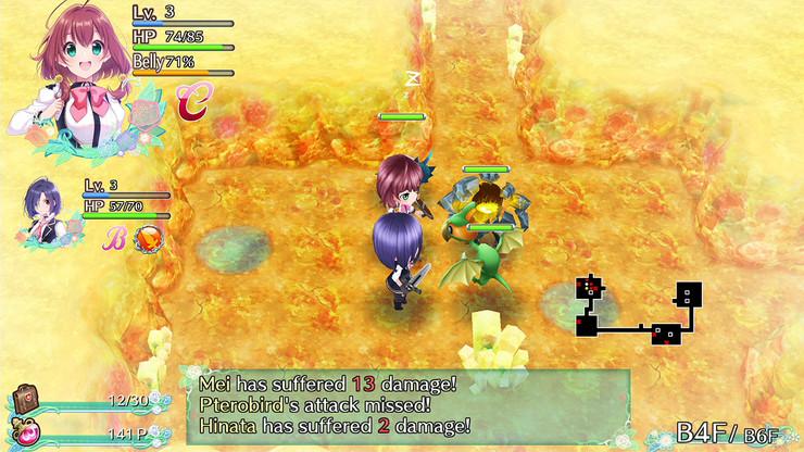 Кадры из игры Omega Labyrinth Life