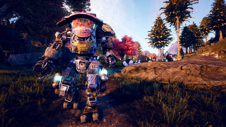 Кадры из игры The Outer Worlds