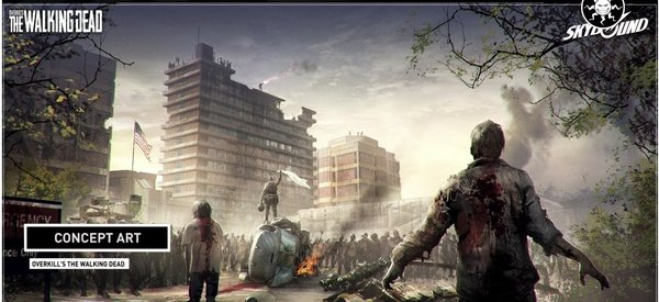 Промо-арт игры Overkill's The Walking Dead