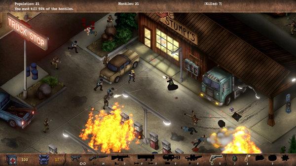 Кадры из игры POSTAL Redux
