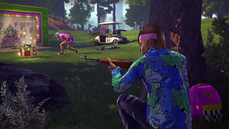 Кадры из игры Radical Heights
