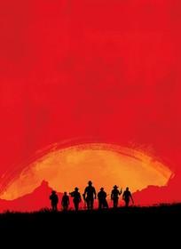Промо-арт игры Red Dead Redemption 2