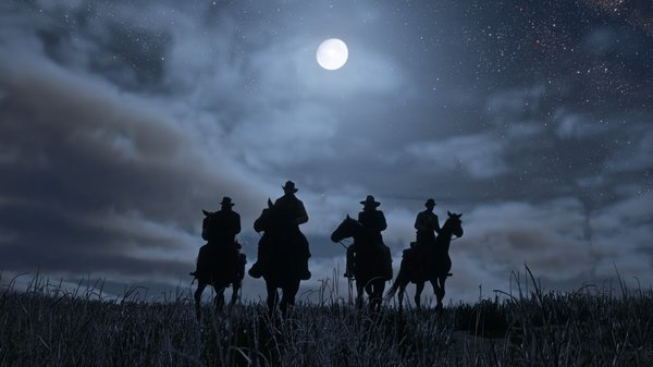Промо-арт игры Red Dead Redemption II