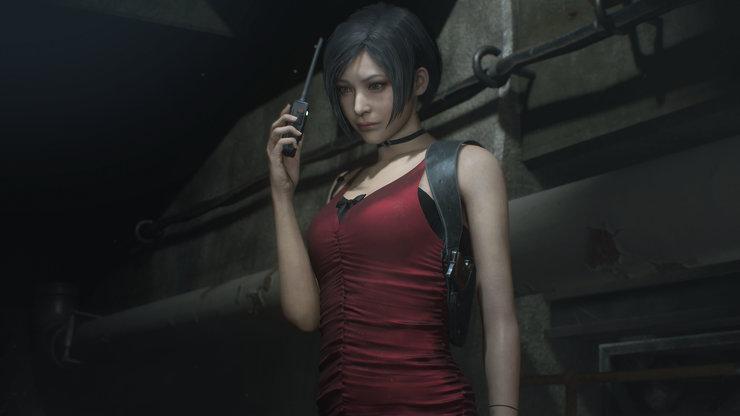 Кадры из игры Resident Evil 2