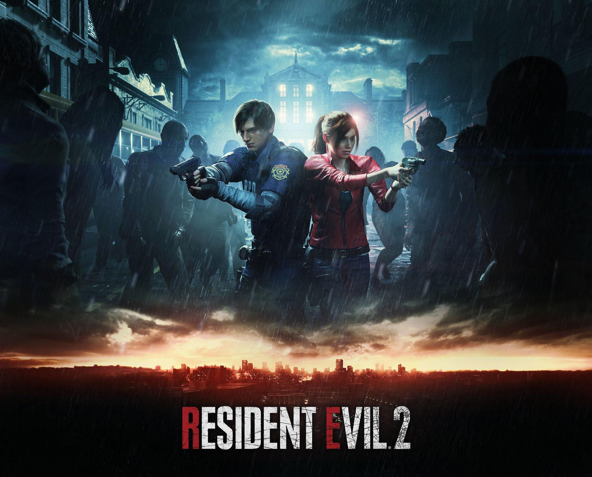 Resident Evil 2, постер № 5