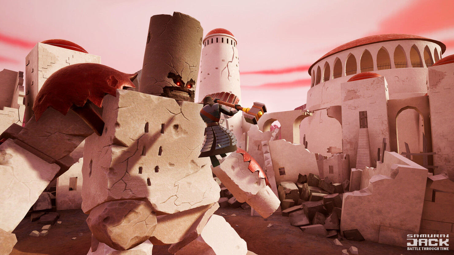 Кадры из игры Samurai Jack: Battle Through Time
