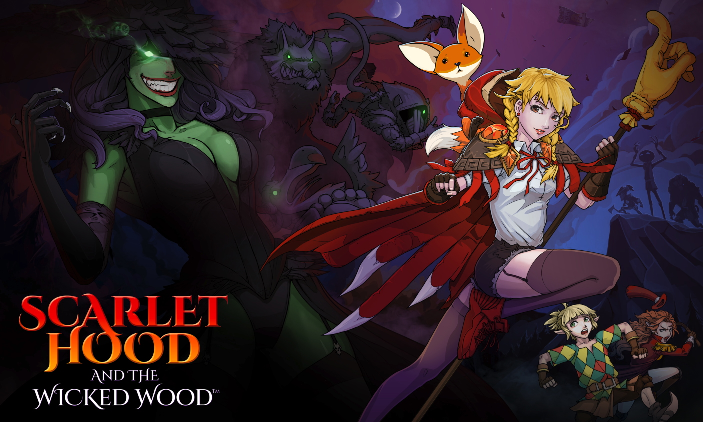 Scarlet Hood and the Wicked Wood, постер № 1