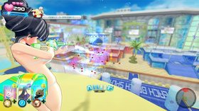 Кадры из игры Senran Kagura: Peach Beach Splash
