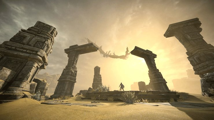 Кадры из игры Shadow of the Colossus