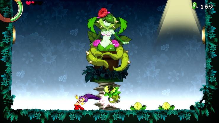 Кадры из игры Shantae and the Seven Sirens