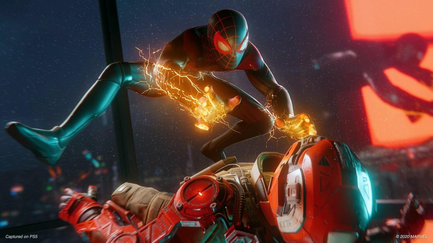 Кадры из игры Spider-Man: Miles Morales