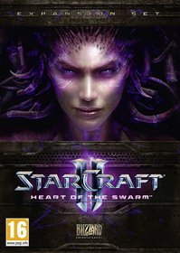Обложки игры StarCraft II: Heart of the Swarm