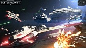 Кадры из игры Star Wars Battlefront II
