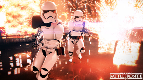 Кадры из игры Star Wars Battlefront II