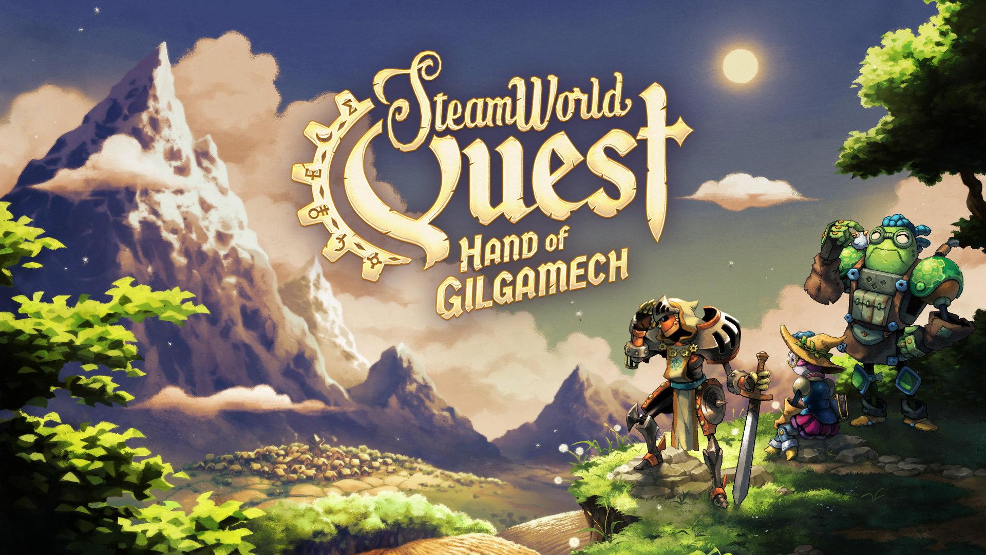 SteamWorld Quest: Hand of Gilgamech, постер № 1