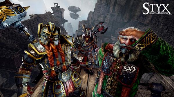 Кадры из игры Styx: Shards of Darkness