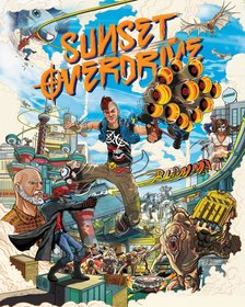 Обложки игры Sunset Overdrive